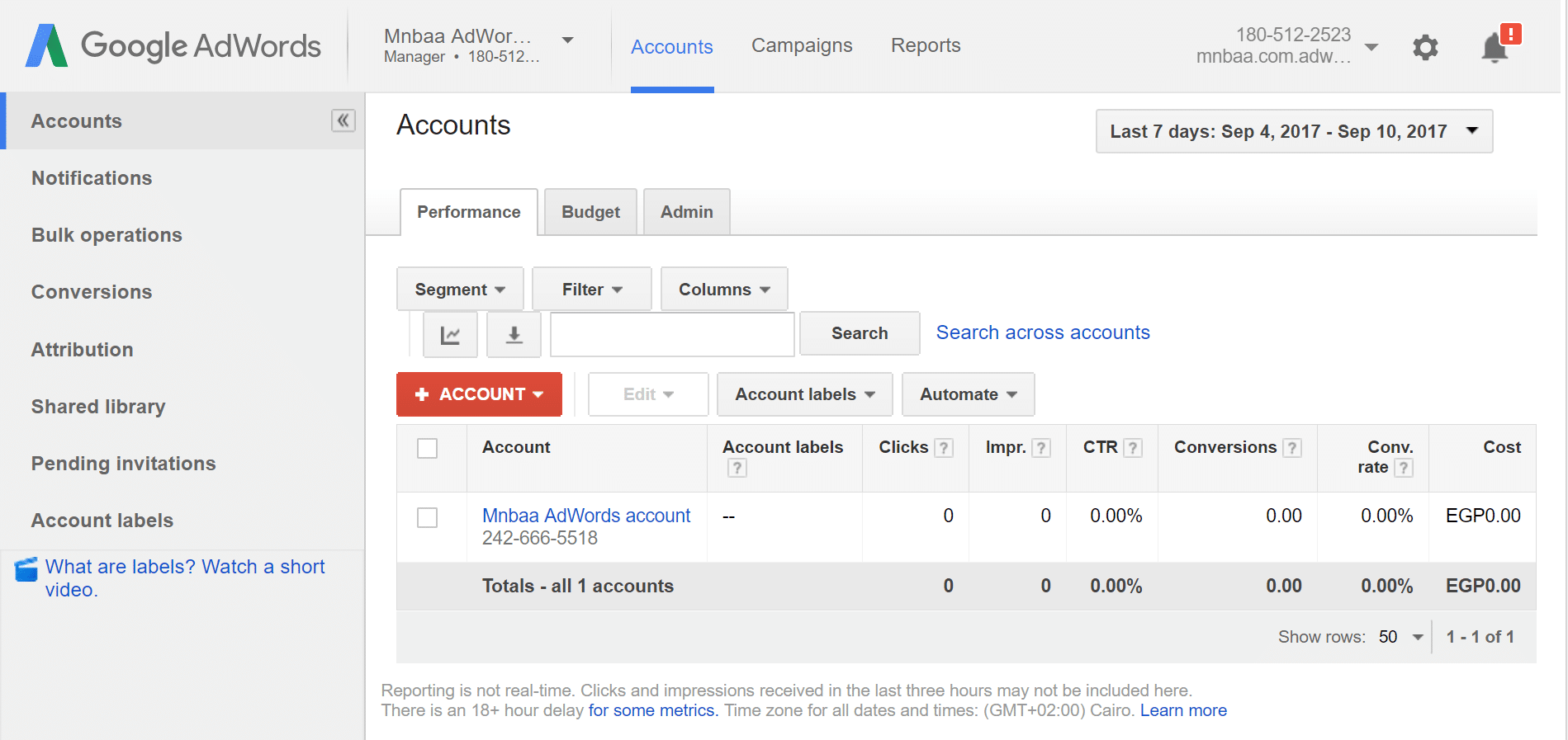 """إدارة صلاحيات حساب اعلانات جوجل ادز Google Ads """"Adwords"""""""